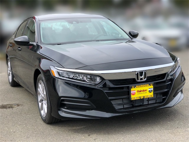 New 2019 Honda Accord 1.5T LX Sedan CVT