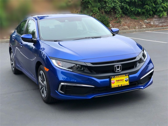 New 2020 Honda Civic LX CVT 2.0L Sedan